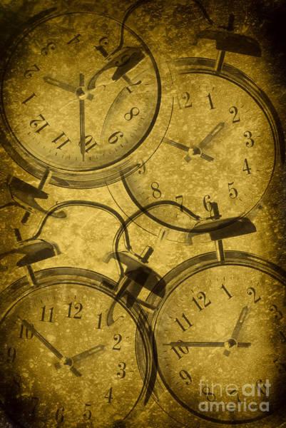 Alarm Clock Photograph - Clocks by Amanda Elwell