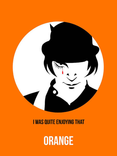 Film Painting - Clockwork Orange Poster 2 by Naxart Studio