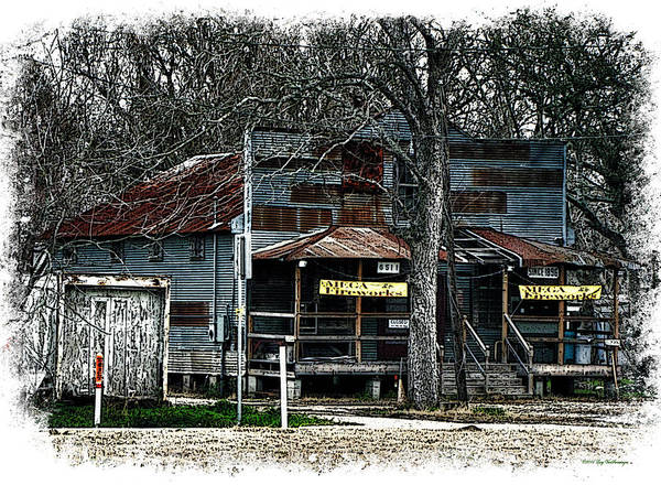 Photograph - Clodine Post Office by Lucy VanSwearingen