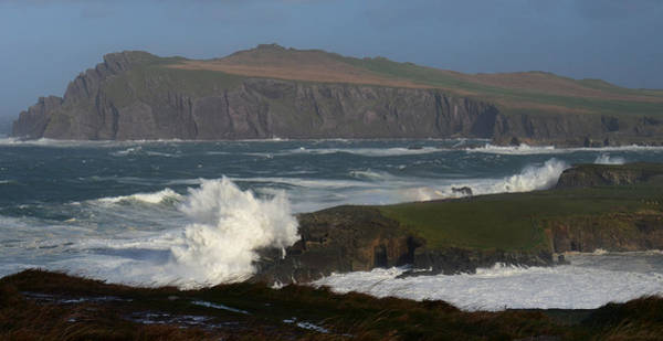 Wall Art - Photograph - Clogher Beach On A Windy Day by Barbara Walsh