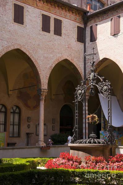 Photograph - Cloister Of St Guistina Padua by Brenda Kean