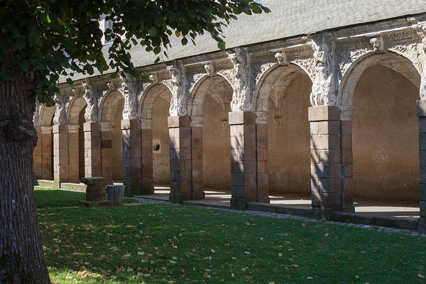 Wall Art - Photograph - Cloister Of St Melaine At Rennes by W Chris Fooshee
