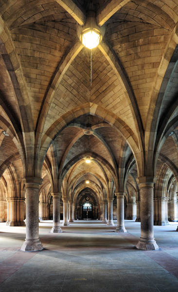 Photograph - Cloisters by Grant Glendinning