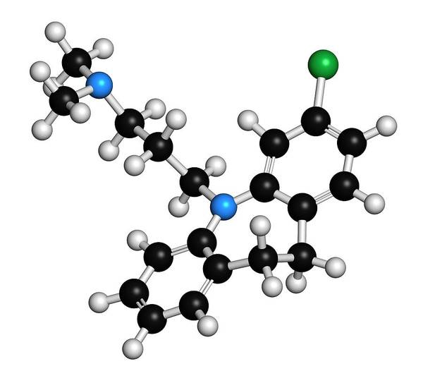 Chronic Wall Art - Photograph - Clomipramine Tricyclic Antidepressant by Molekuul