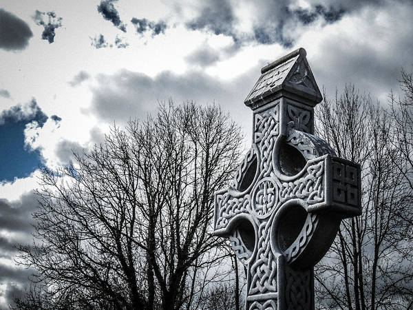 Photograph - Clondegad Celtic Cross by James Truett