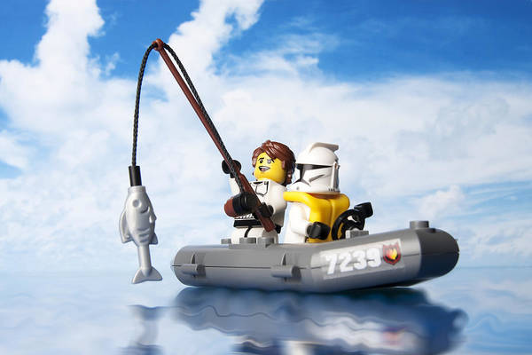 Rods Photograph - Clone Trooper Fishing Trip by Samuel Whitton