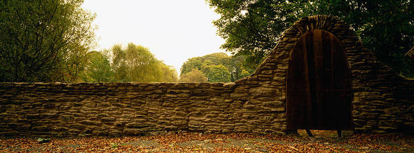 Boundary County Photograph - Close-up Of A Stone Wall, County by Panoramic Images