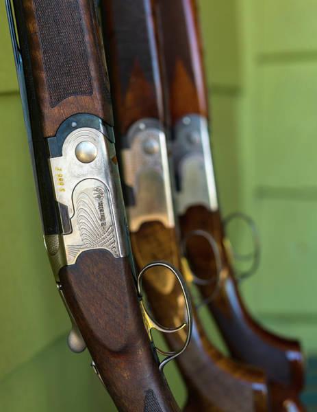 Beretta Wall Art - Photograph - Close-up Of Beretta Shotguns by Panoramic Images