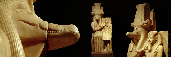 Alabaster Photograph - Close-up Of Calcite Statues by Panoramic Images