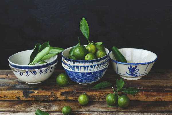 Photograph - Close-up Of Fruits In Bowl by Thu Thai Thanh / Eyeem