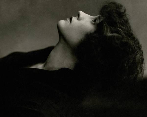 January 1st Photograph - Close Up Of Helen Menken by Edward Steichen
