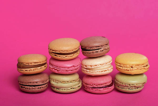 Wall Art - Photograph - Close-up Of Multi Colored Macaroons by Stefan Dinse / Eyeem