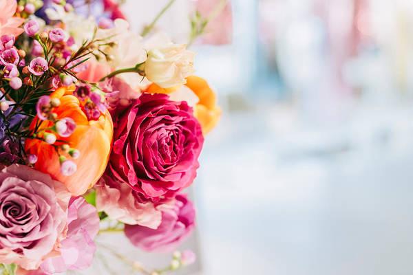Close-up Of Pink Rose Bouquet Art Print by Jan Tong / EyeEm