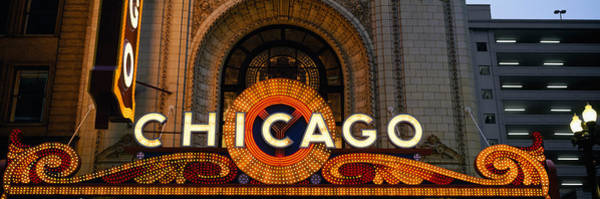 Chicago And North Western Photograph - Close-up Of The Entrance Of A Stage by Panoramic Images