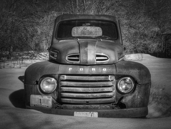 Photograph - Close Up Of The Old Timer by Thomas Young