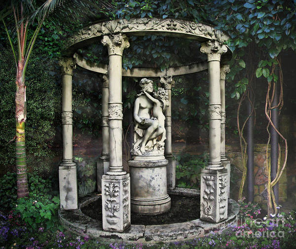 Digital Effect Photograph - Close Your Eyes And Make A Wish by Peter Awax