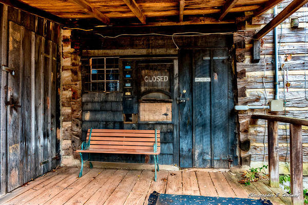 Photograph - Closed by Christopher Holmes
