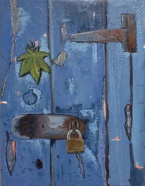 Painting - Closed Doors by Carlos Rodriguez Yorde
