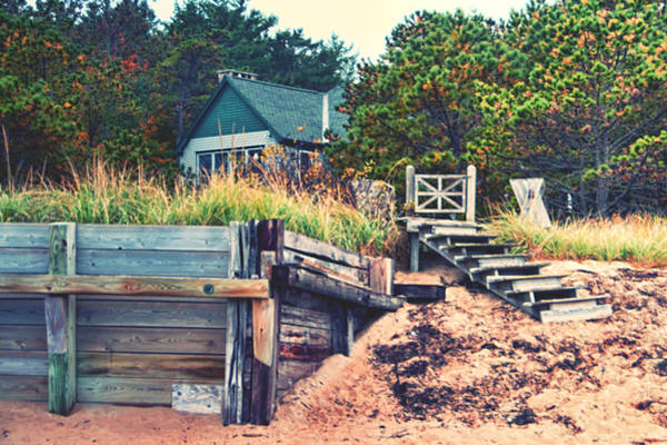 Photograph - Closed For The Season Revisited Color by Jeremy McKay