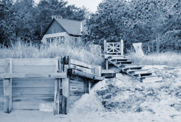 Photograph - Closed For The Season Revisited Silver Version by Jeremy McKay