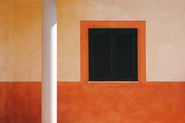 Shutter Photograph - Closed by Rolf Endermann