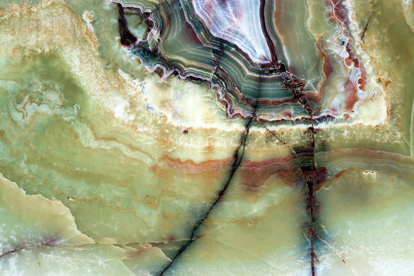 Material Photograph - Closeup Beautiful Marble Background by Imamember
