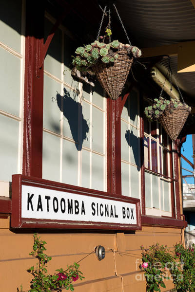 Photograph - Closeup Of Katoomba Train Station by Yew Kwang