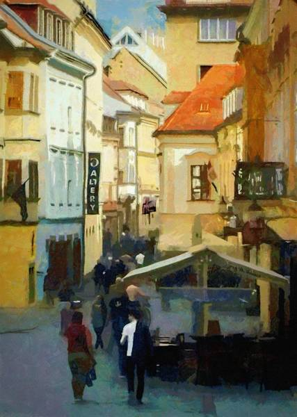 Painting - Closing Time by Jeffrey Kolker