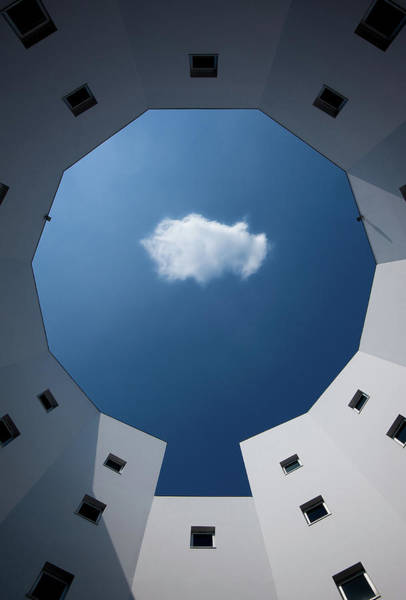 Circular Wall Art - Photograph - Cloud by