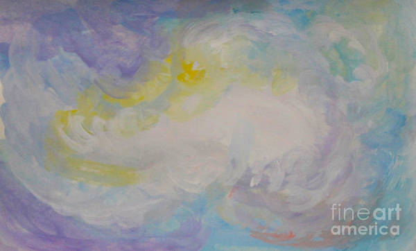 Painting - Cloud Abstract 3 by Anne Cameron Cutri