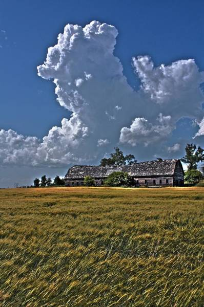 Photograph - Cloud Barn by David Matthews