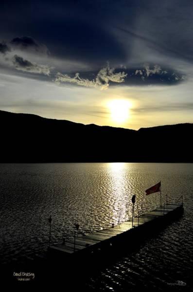 Photograph - Cloud Chasing - Skaha Lake 4-2-2014  by Guy Hoffman