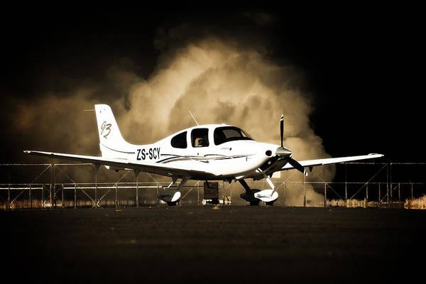 Kimberley Airport Photograph - Cloud Cirrus by Paul Job