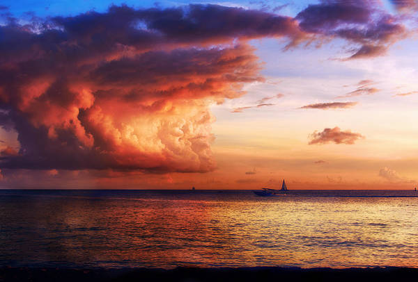 Rock Island Line Photograph - Cloud Cover by Camille Lopez