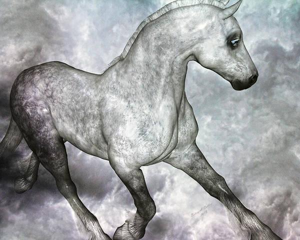 Elegant Mixed Media - Cloud by Betsy Knapp