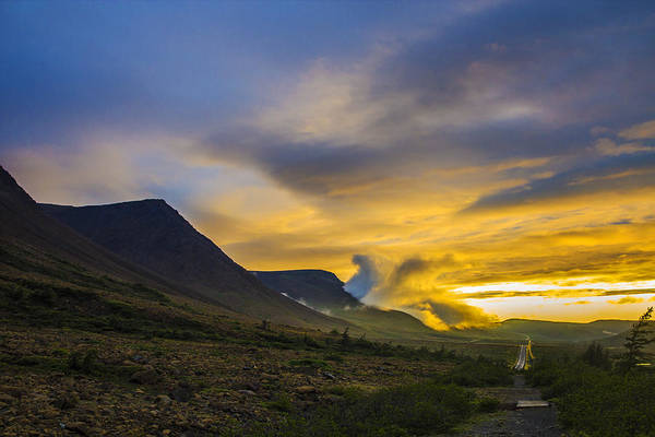 Gros Morne Photograph - Cloud Explosion  by Theo Westlake