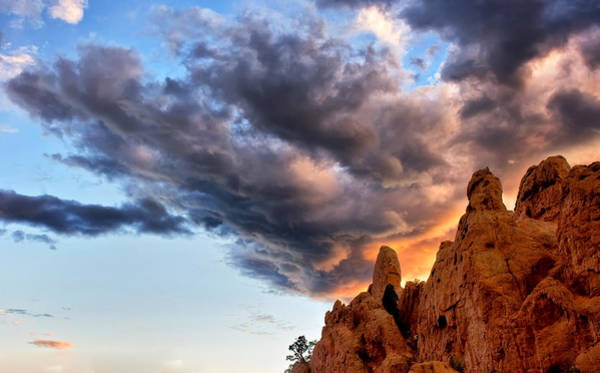Wall Art - Photograph - Cloud Explosion by Ronda Kimbrow