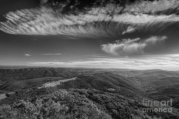 Photograph - Cloud Formation Over Smith Mountain by Dan Friend