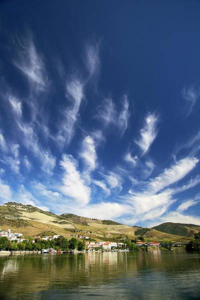 Douro Wall Art - Photograph - Cloud Formations Over Pinhao by Sinclair Stammers