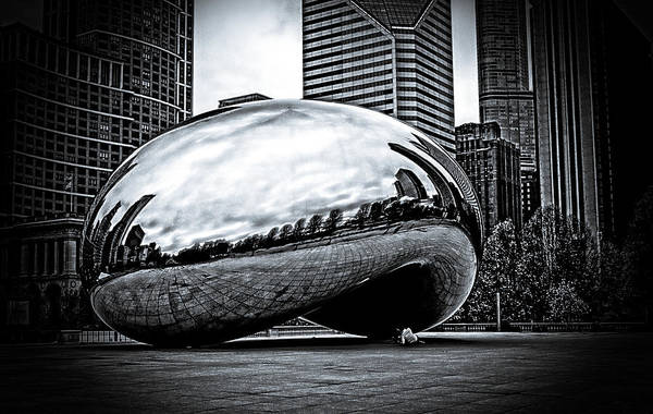 Photograph - Cloud Gate Chicago 2014 by Frank Winters