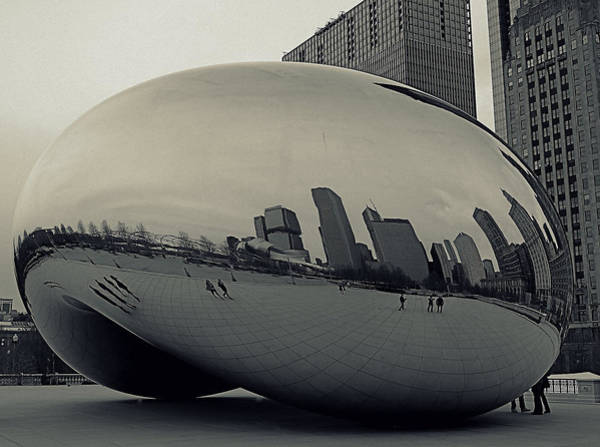 Photograph - Cloud Gate by Gia Marie Houck