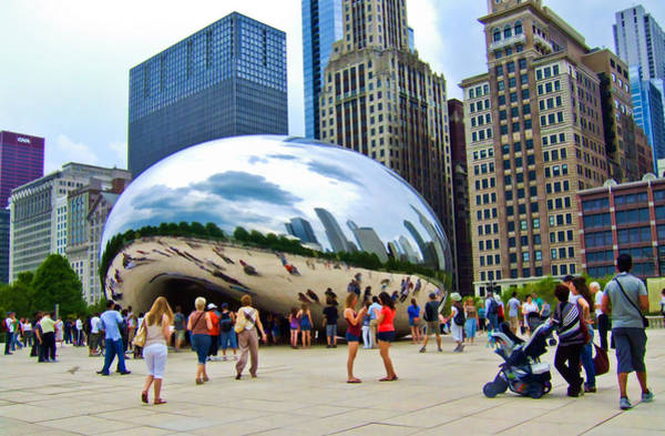 Photograph - Cloud Gate by Ginger Wakem