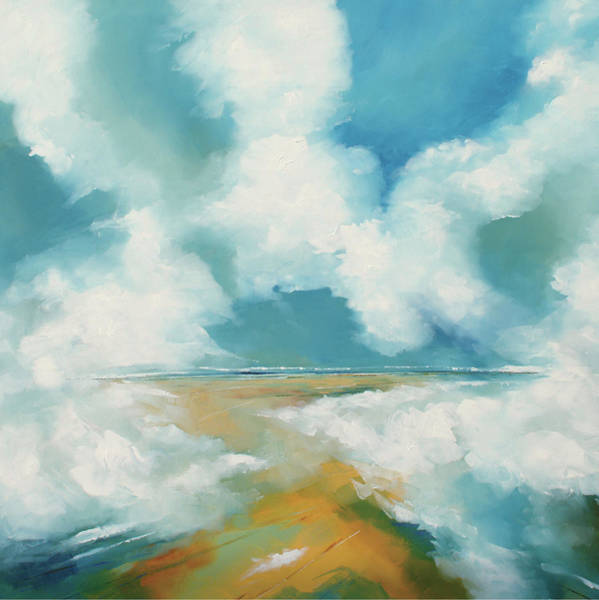 Skyscape Painting - Cloud II by Stuart Roy