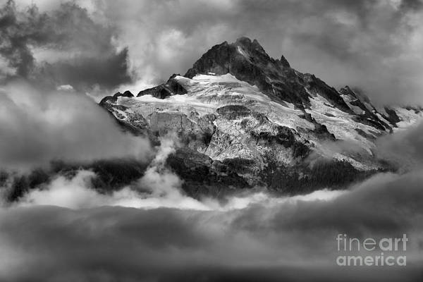 Photograph - Cloud Layers Over Tantalus by Adam Jewell