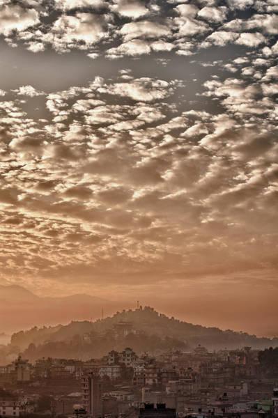 Cloud Over Kathmandu Art Print