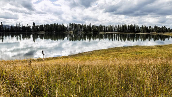 Photograph - Cloud Reflections In Indian Pond - Yellowstone by Belinda Greb