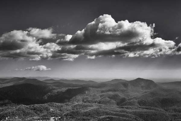 Photograph - Cloud Shadows On The Mountains II by Ben Shields