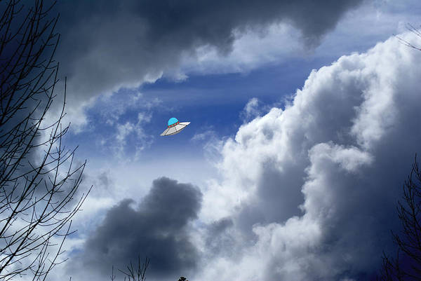 Photograph - Cloud Surfing by Ben Upham III