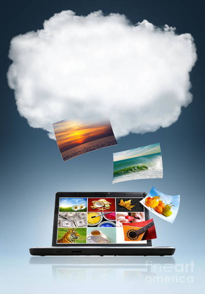 Download Photograph - Cloud Technology by Carlos Caetano