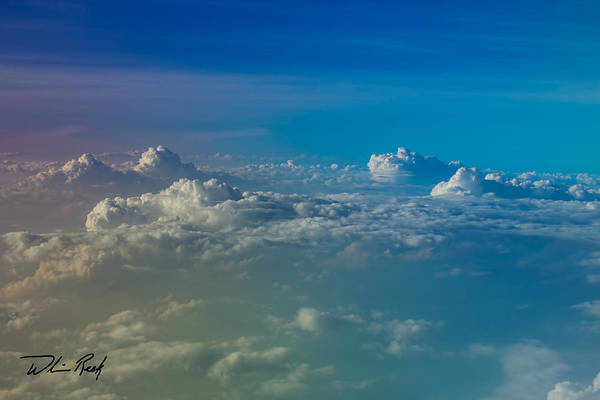 Photograph - Cloud Tops 1 by William Reek